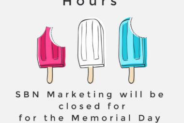 SBN Marketing 2020 Holiday Hours